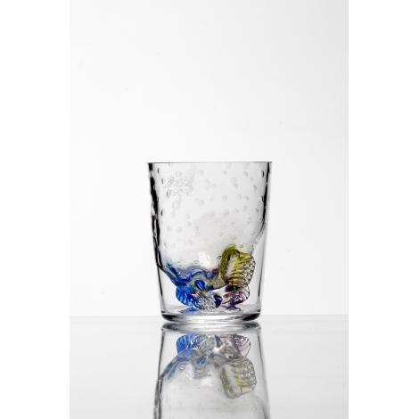 WHISKY COLOR -  sklenička na whisky z kolekce uměleckého skla Bořka Šípka