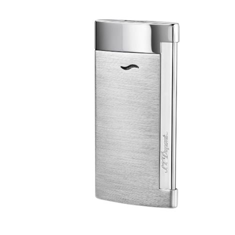 Zapalovač S.T. Dupont  Slim 7 Chrome Brossé 027701